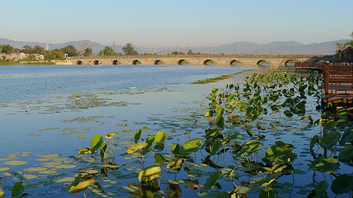 永定河晓月湖(规划梅市口桥~卢沟桥橡胶坝河段)工程
